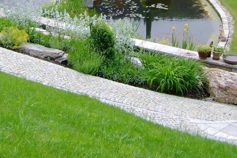 Gartengestaltung gartenanlage aussenanlage naturstein for Gartengestaltung 24